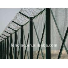 12.7x76.Высокий уровень безопасности 2мм Сварной усиленный забор/панель