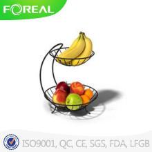Panier de fruits variés Yumi 2 niveaux Spectrum