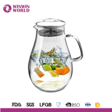 Wholesale Big Belly Tableware Drinking Clear Hot And Cold Water Pitcher