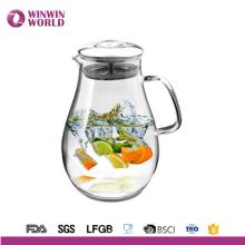 Utensílios de mesa grandes da barriga por atacado que bebem o jarro claro da água quente e fria