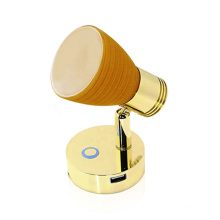 Genuine marine Boat reachable portable led wall usb charge protect RV reading light shade Touchable Dimming rv reading lamp