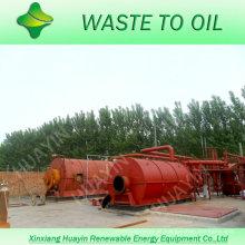 pneu waste do projeto o mais novo ao óleo cru com CE e ISO