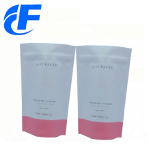 Laminated material plastic stand up packaging bags