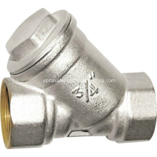 Brass Y Strainer Filter Check Valve (a. 0194)