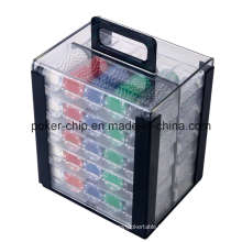 1000PCS Poker Chip Set in Acryl Case (SY-S48)