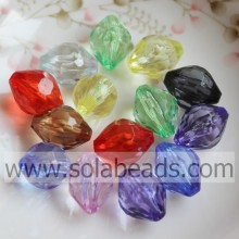 Fantastic 16*22MM Bicone Cut Colored Beading Charm