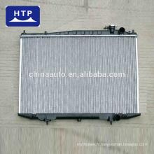 Liste de prix d'assy de radiateur en aluminium automatique de haute performance pour TOYOTA COROLLA