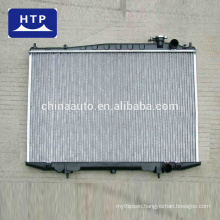 High performance auto Aluminum radiator assy price list for TOYOTA COROLLA