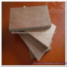 Vietnam-Hartholz-kommerzielles Sperrholz 8x4'x18mm