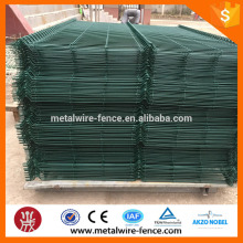 Galvanized then colorful coated fence mesh welded wire mesh fence