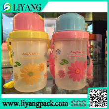 Симпатичные Хризантема дизайн, пленка передачи тепла для пластичной бутылки воды