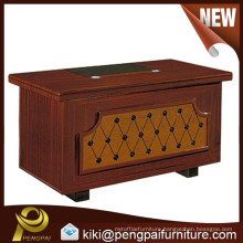 new design wooden/ paper/paint office table with drawers