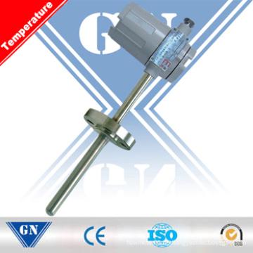 Fixed Flangethermoelement (Thermischer Widerstand) mit Temperaturtransmitter (CX-WZ / R)