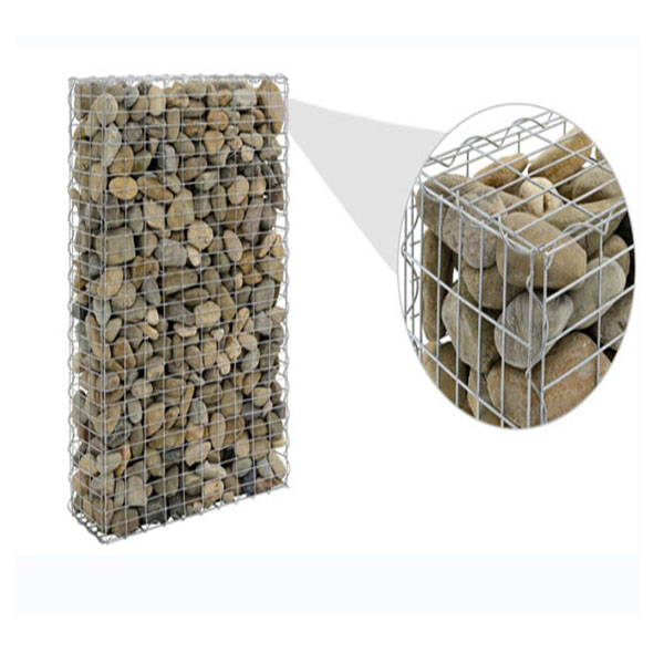 Welded Gabion Box Defensive Barriers Wall Dengan Geotextile