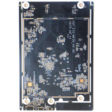 Communication devices immersion gold black color pcb