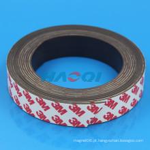 25 milímetros tipo macio borracha flexível Self Stick Magnetic Strips