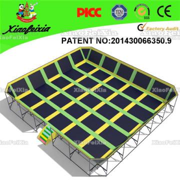 China Professional Manufacturer Indoor Large Gymnastics Trampolines for Sale