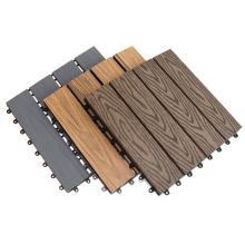 Eco Recycle 300*300mm DIY Outdoor Composite WPC Decking Floor Tile