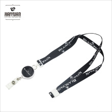 Suporte de crachá personalizado Retrolable Pull Reel Lanyards