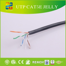 24AWG UTP Cat5e Jelly Cable (Открытый водонепроницаемый кабель)