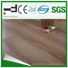 12mm White Oak Waxed Laminated Flooring for Bed Room with License and CE Certificate