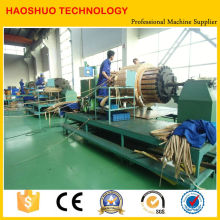 Horizontal Coil Winding Machine