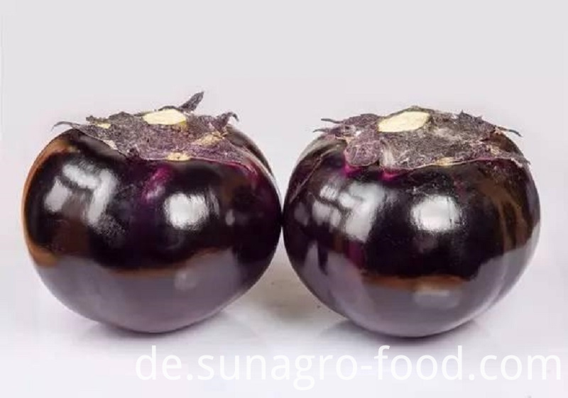 Healthy And Big Eggplant