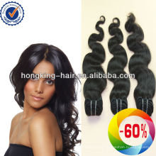 natural color double drawn wholesale virgin Brazilian extension hair