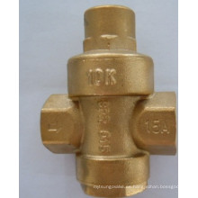 Válvula reductora de presión de latón para agua (0.209)