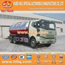 FAW J6M 6x4 20000L vacuum suction tanker truck FAW diesel engine 280hp