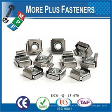 Fabriqué à Taiwan Cage Nut Nickle Square Stainless Steel Stainless Steel Stainless Steel