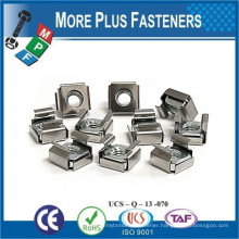Made in Taiwan Cage Nut Nickle Square Stainless Zinc Electroplate Steel