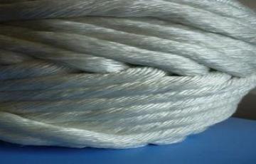 Pipe insulation High Temperature Fiberglass Twisted Rope Br