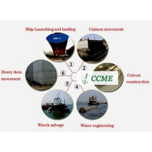 Marine floating airbags salvage and launching lifting airbags