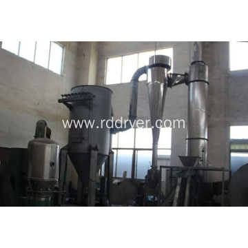 Flash drying machine of ferric oxide