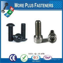 Made in Taiwan 8.8 Grade M8-1.25 x 25mm DIN 912 Hex Drive Class 12.9 Black Oxide Finish Alloy Steel Socket Cap Screw