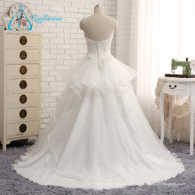 2017 New Style Sweetheart Real Photo Wedding Dress