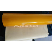 Yellow 7 years reflective sheeting