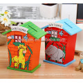 Holz Sparschweine für Kinder Geld sparen Box