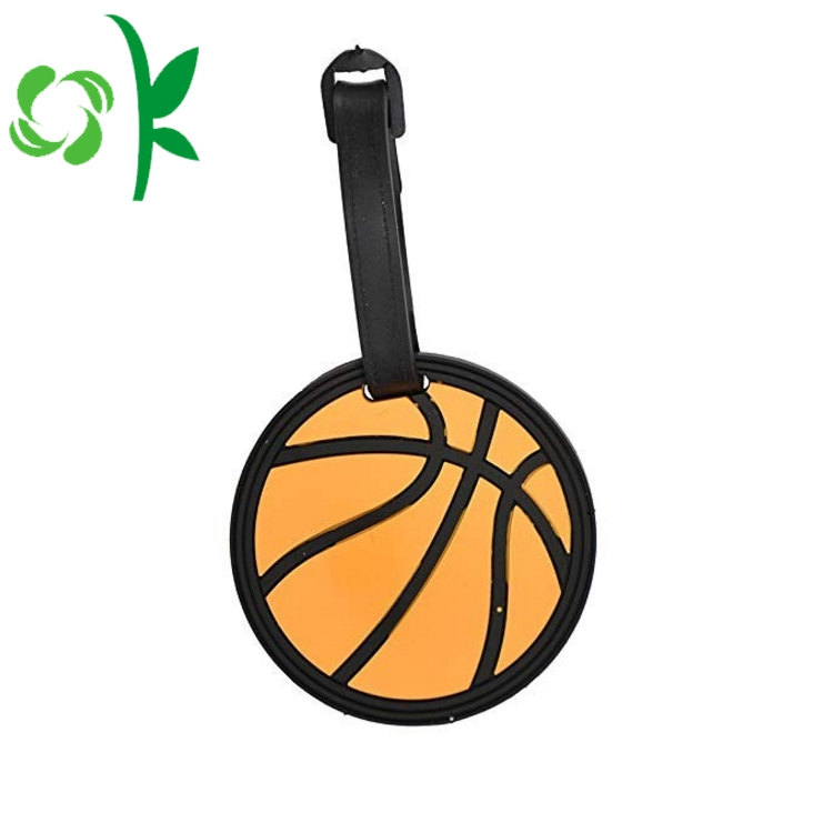 Basketball Football Shape Luggage Tag
