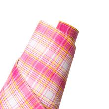 factory direct tartan plaid lavender lilac adhesive back  rubber printed EVA foam handicraft sheets