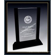 """Premio de placa vertical de cristal para cliente VIP 9 """"H (NU-CW699)"""