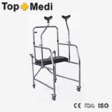 Bariátrica Heavy Duty Disable Walking Aid con marco de acero