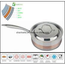 Saucepan 5 Ply Composites Material Pan