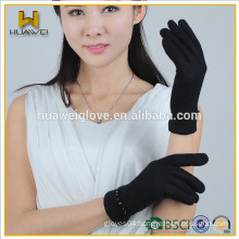 2015 Fashion Design New style Hot Sale Ladies Wool Gloves,High Quality Wool Gloves with TR lining