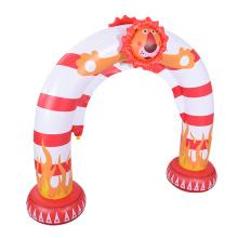 Brinquedo inflável de sprinkler em forma de leão