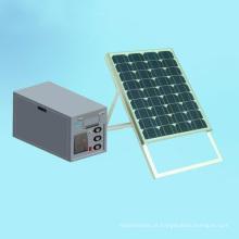Kit de Painel Solar Portátil 50W Portátil Off Grid Kit de Iluminação Solar