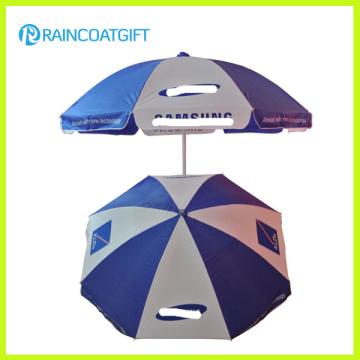 Meilleure solution pour parapluie promotionnel de plage de haute qualité de publicité extérieure