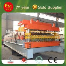Automatische Stahlstufen-Fliesenrollenformmaschine