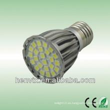 4.6w mr16 smd bombillas de proyección